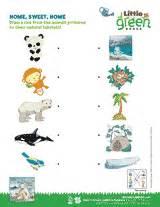 Home sweet home animal habitats matching activity k 1st grade