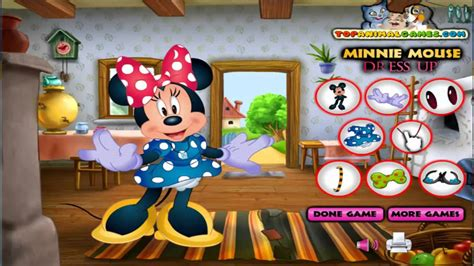 Mickey Mouse Games - Minnie Mouse Dress Up| Free Girls ... Kids Games For Girls Disney Free Online
