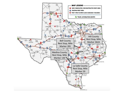 texas rest area map texas brakes for butterflies monarch highway comes to ih35 texasbutterflyranch