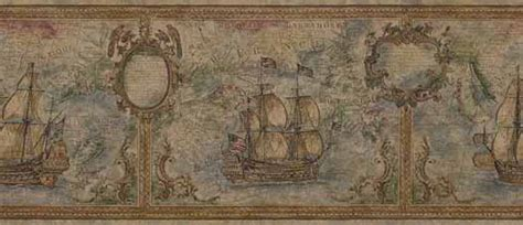 imperial home decor group wallpaper image gallery old world nautical wallpaper