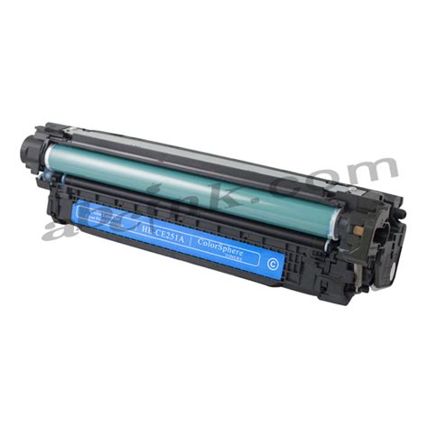 Toner Remanufactured hp ce252a ce 252 remanufactured yellow toner cartridge
