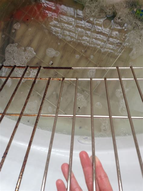 How To Clean Oven Rack by Larson How To Clean Oven Racks In The Bathtub