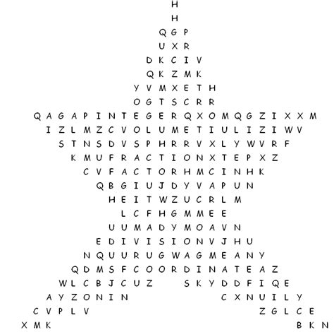 printable word search math terms math vocabulary word search puzzle