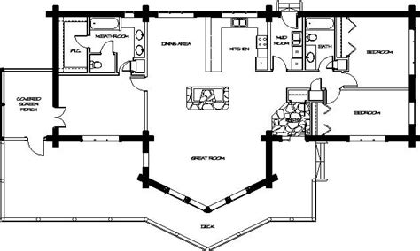 Log Home Floor Plan | log modular home plans log home floor plans floor plans