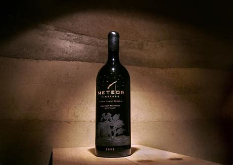 the who made the the meteoric rise and tragic fall of william fox books a meteoric rise meteor vineyard debuts eastside cab wine
