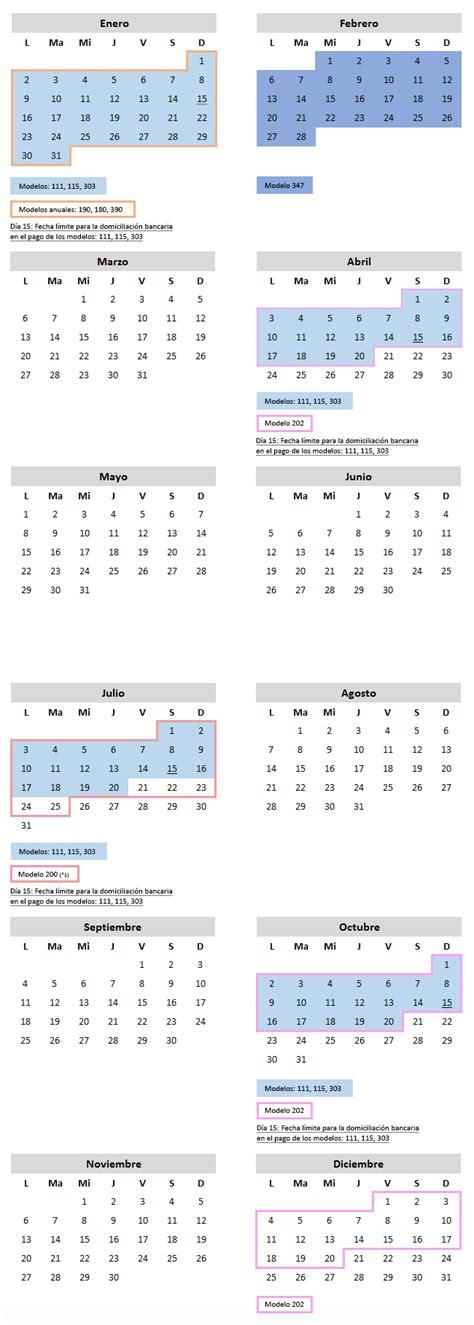 semana fiscal 2016 calendario fiscal 2017 para pymes