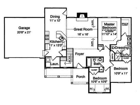house plans and more country house plan first floor 065d 0061 house plans and