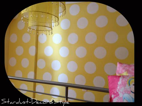 Paint Polka Dots Bedroom Wall by S Bedroom Reveal And How To Paint Polka Dots On A