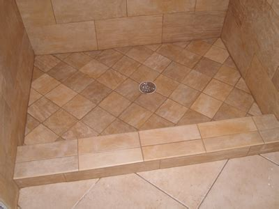 tile ready shower pans with center drain