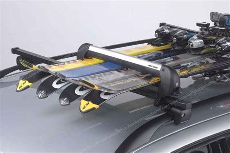 Wakeboard Roof Rack by Mont Blanc Mckinley Ski Snowboard Carrier For Mont Blanc