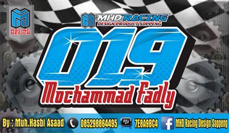 font untuk design nomor start mhd racing design soppeng kumpulan desain nomor start
