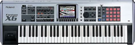 Keyboard Roland Fantom X6 roland fantom x6 workstation keyboard