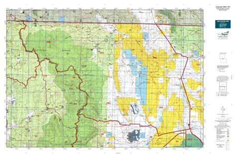 colorado gmu map colorado gmu 161 map mytopo