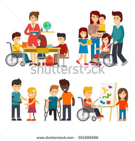 becoming friends of time disability timefullness and gentle discipleship studies in religion theology and disability books disability person vector flat illustration stock