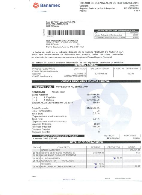 estado de cuenta scotiabank informaci 243 n fundamental portal de captura de informaci 243 n