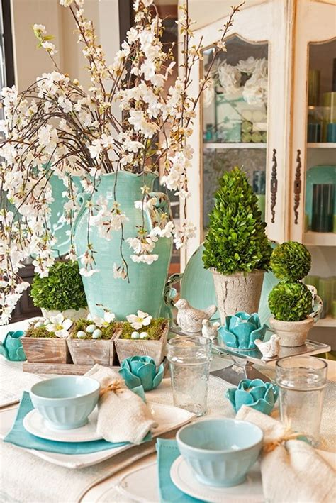 spring table decoration ideas 16 easter table setting up ideas cheap easy decoration