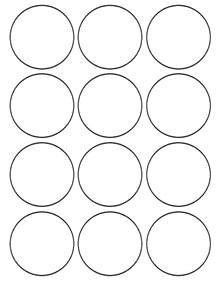 Circles Template by Flour Confections