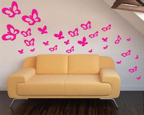 butterfly wall decals for rooms bedroom butterflies wall decals animal wall decal murals