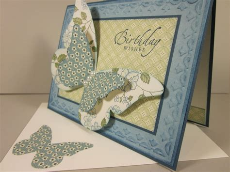 Stylish Handmade Cards - stylish handmade butterfly card collection adworks pk