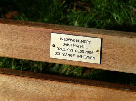 memorial benches with plaque memorial bench plaque 28 images memorial bench plaque