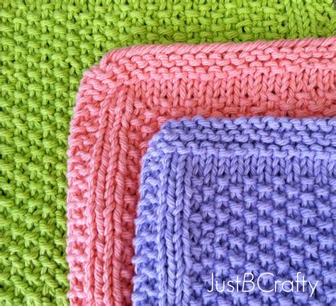seed stitch knitting seed stitch dishcloths just be crafty