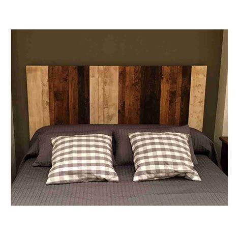 cabecero tablas madera medidas y cabecero de madera r 250 stico con tablas verticales le