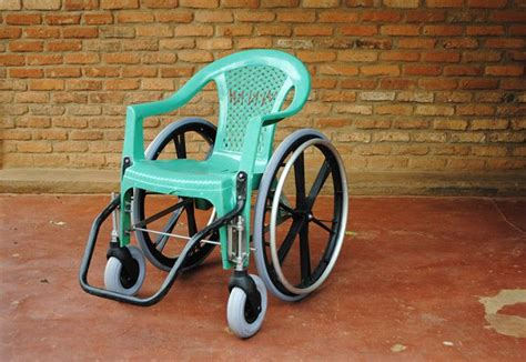wheelchair diy kigali chair is a diy wheelchair made with recycled material using parts of