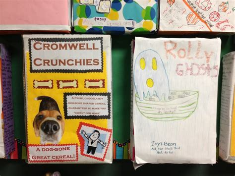 cereal box book reports fourth grade 1000 images about steven noyes 4th grade on