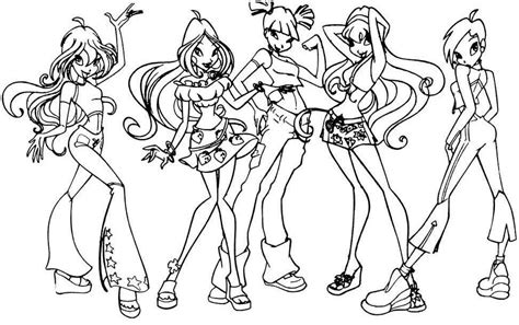 coloring pages for winx club coloring pages winx club coloring home