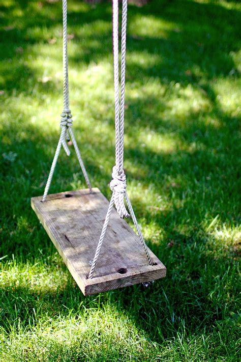 wooden rope tree swing just like the outdoor lights everyone should have a swing