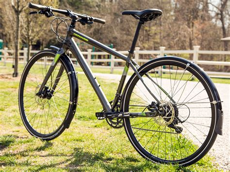 fitness bike cannondale flat bar road hybrid gets leaner faster