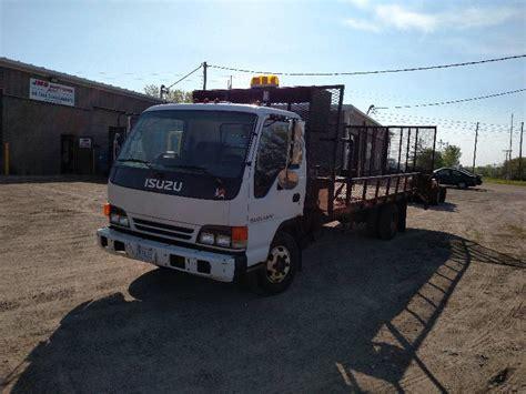 isuzu landscape truck 2002 isuzu npr landscape truck v8 may consignments k bid