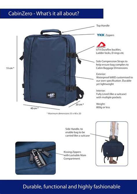 Lufthansa Cabin Baggage Weight by Boia Pte Ltd Cabinzero
