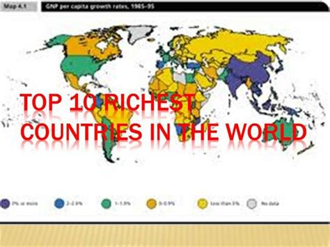 top 10 richest in the history of south africa top 10 richest countries in the world authorstream