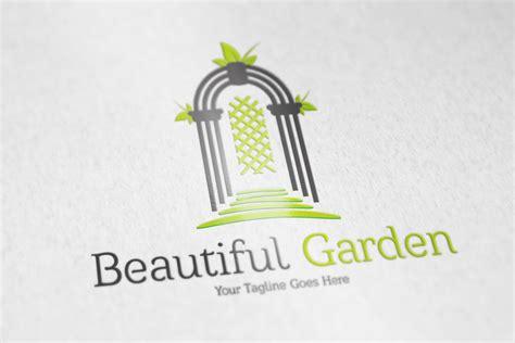 The Garden Logo Beautiful Garden Logo Logo Templates On Creative Market