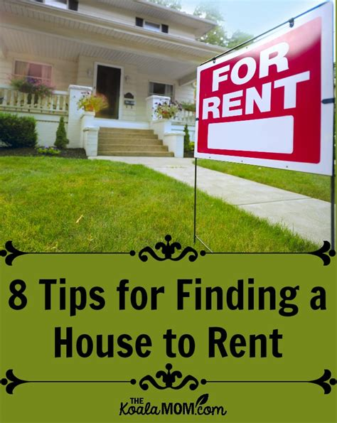 8 Tips To Make House Survivable by Finding A House To Rent Without Losing Your Mind
