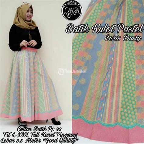 Celana Kulot Panjang Motif Batik Bahan Katun celana panjang cewek batik kulot baru bahan katun batik