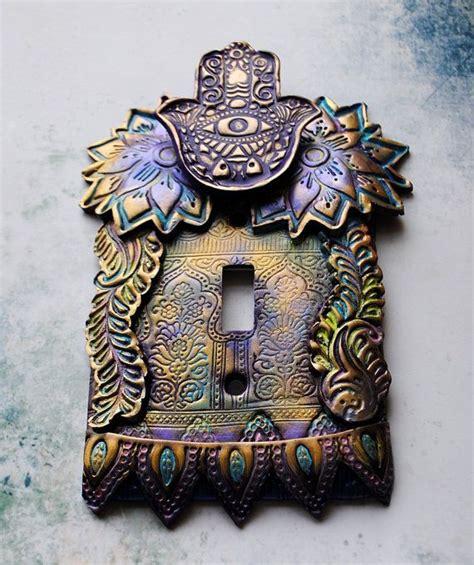 unusual light switch covers purple hamsa light switch cover switch plate hamsa one
