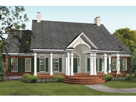 house plans wrap around porch single story polkadot