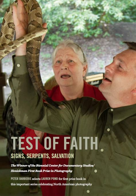 test of faith signs serpents salvation center for documentary studies honickman book prize in photography books pond s test of faith duke press fall
