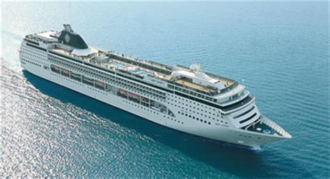Opulent Definition Msc Cruises On The Msc Opera And The Msc Sinfonia Cruises