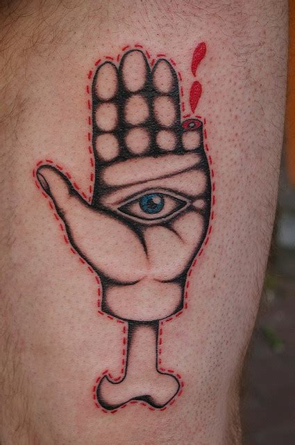 tattoo of eye in palm of hand hand tattoo with eye hand tattoos