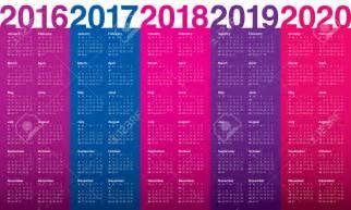 Calendario 2018 E 2019 Calendario 2017 E 2017 2017 Calendar Printable