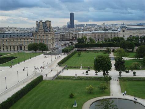 giardini louvre louvre tuileries photo de vu du ciel jj l amorosso