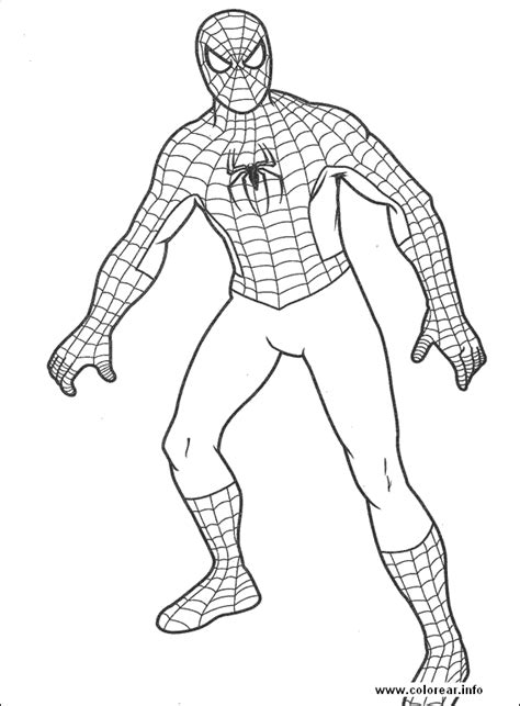 spiderman 07 spiderman printable coloring pages for kids