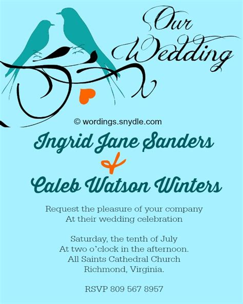 Casual Wedding Invitation Sles by Best Wedding Invitation Messages For Friends Wedding