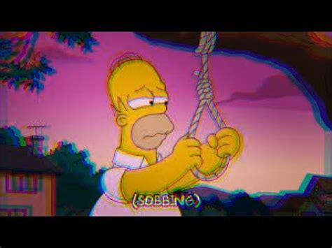 imagenes sad simpsons sad homer simpson wave youtube