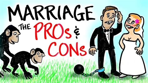 8 Pros And Cons On Getting Married At A Age by The Pros Vs Cons Of Marriage Doovi