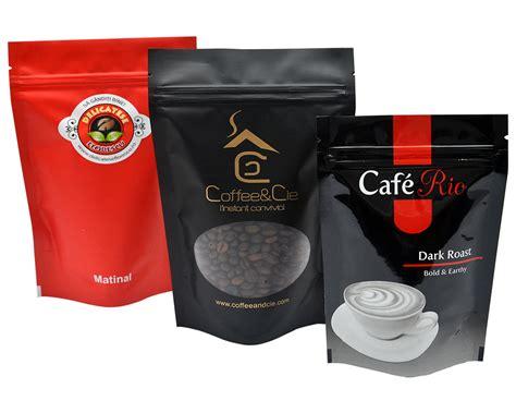 custom printed coffee bags custom coffee pouches