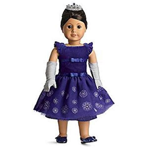 amazoncom american girl my american girl doll with amazon com american girl snowflake ball gown my american